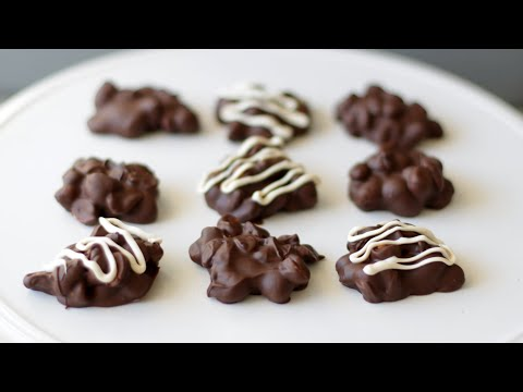 How to Make Chocolate Peanut Clusters | Easy Peanut Clusters Recipe