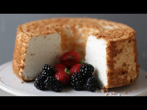 How to Make Angel Food Cake | Easy Homemade Angel Food Cake Recipe