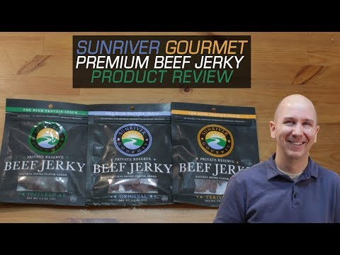 Premium Beef Jerky by SunRiver Gourmet | Product Review Episode 16