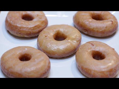 How to make Glazed Donuts | Easy Homemade Yeast Doughnuts Recipe | Krispy Kreme Style