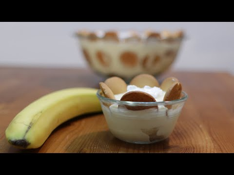 How to Make Banana Pudding | Easy Homemade Banana Pudding Recipe