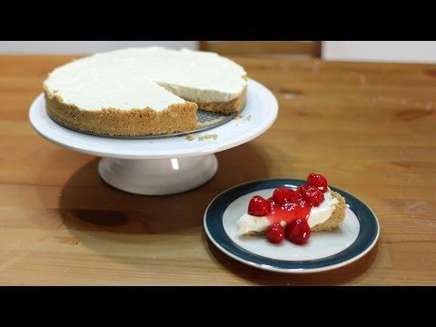 How to Make Cheesecake - Easy No Bake Cheesecake Recipe