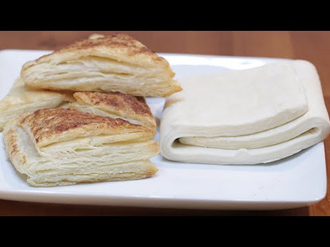 How to Make Puff Pastry | Easy Homemade Puff Pastry Recipe