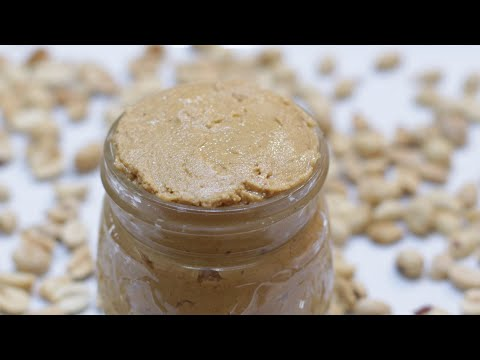How to Make Peanut Butter | Easy Homemade Peanut Butter Recipe