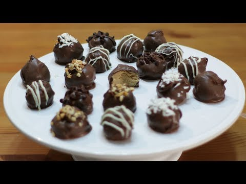 How to Make Peanut Butter Balls | Easy Peanut Butter Balls Recipe