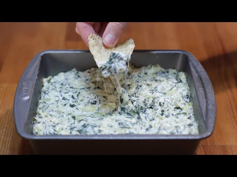 How to Make Spinach Artichoke Dip | Easy Recipe
