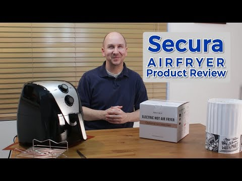 Secura Electric Hot Air Fryer | Kitchen Product Review Episode 19