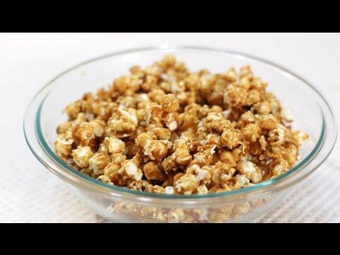 How to Make Caramel Popcorn | Easy Homemade Caramel Popcorn Recipe