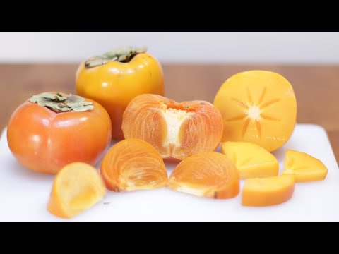 How to Eat Persimmons | Persimmon Taste Test