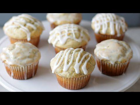 How to Make Lemon Poppy Seed Muffins | Easy Homemade Muffin Recipe