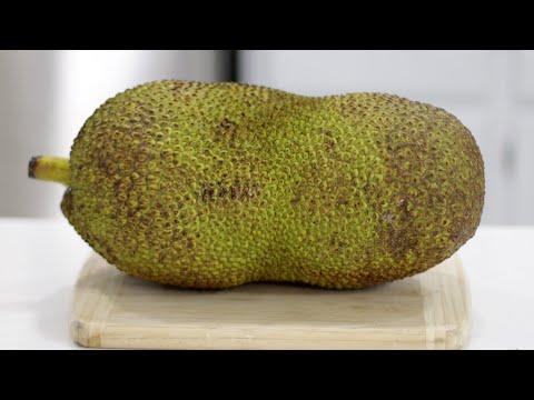 How to Cut and Eat Jackfruit   What does Jackfruit Taste like   Taste Test
