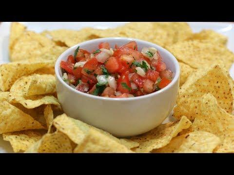How to Make Pico de Gallo | Easy Amazing Homemade Salsa Recipe
