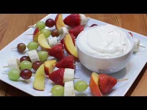 How to Make Fruit Dip   Easy Homemade Fruit Dip Recipe   3 Ingredients