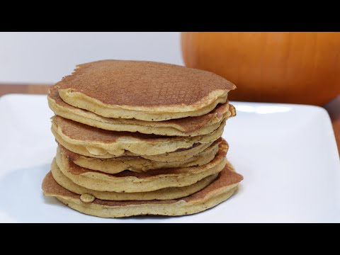 How to Make Pumpkin Pancakes | Homemade Pumpkin Pancake Recipe