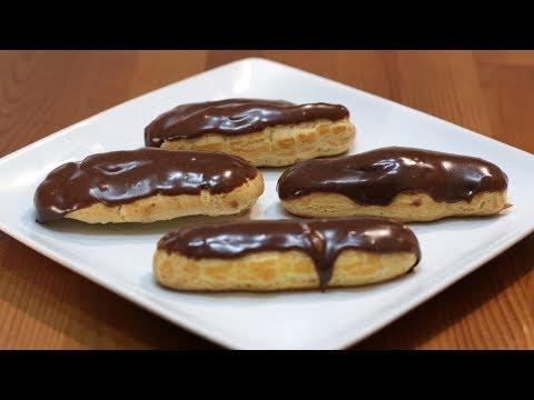 How to Make Eclairs | Easy Homemade Chocolate Eclair Recipe