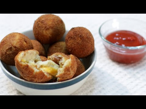 How to Make Mashed Potato Bacon and Cheese Balls