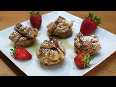 How to Make French Toast Bites or Muffins   Easy French Toast Recipe