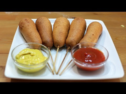 How to Make Corn Dogs | Easy Homemade Corn Dog Recipe