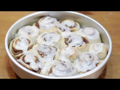 Easy Quick Cinnamon Rolls Without Yeast Recipe | How to Make Cinnamon Rolls