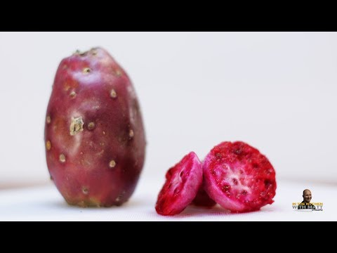 How to Eat Cactus Fruit (Prickly Pear) | Taste Test