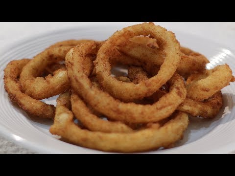 How to make Crispy Onion Rings | Easy Crispy Onion Rings Recipe