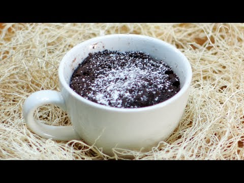 How to make a mug cake | Microwave Mug Cake Recipe (no eggs, 3 ingredients)