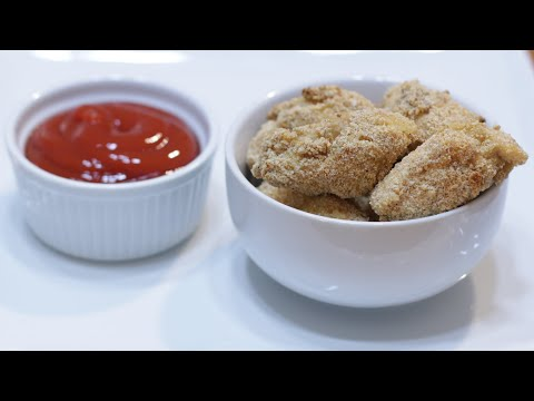 How to Make Chicken Nuggets | Easy Homemade Baked Chicken Nuggets Recipe