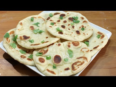 How to Make Naan | Easy Naan Bread Recipe without Tandoor | Indian Flatbread