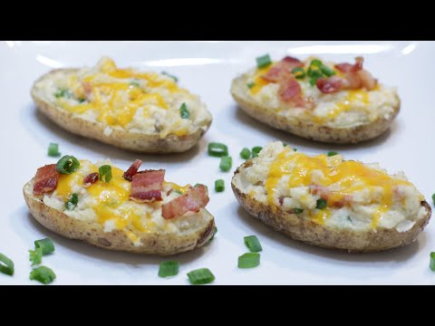 How to Make Twice Baked Potatoes | Easy Baked Potato Recipe