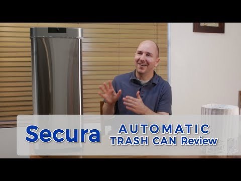 Secura Automatic Kitchen Trash Can | Product Review Episode 20