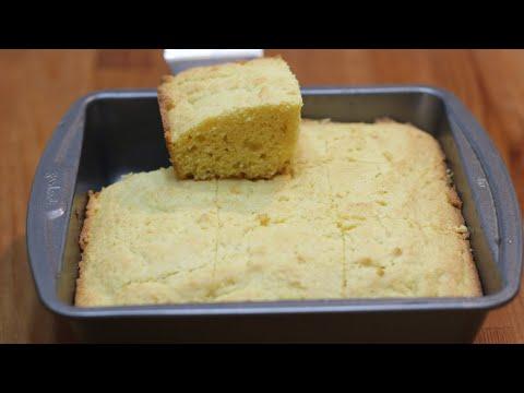 How to Make Sweet Cornbread | Easy Moist Cornbread Recipe
