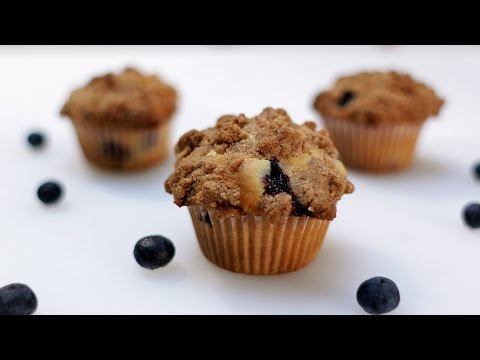 How to Make Blueberry Muffins - Amazing Homemade Blueberry Muffins Recipe