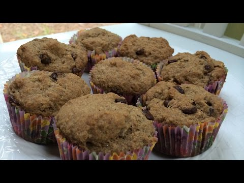 How to Make Gluten Free Muffins with Flaxseed (Dairy Free)