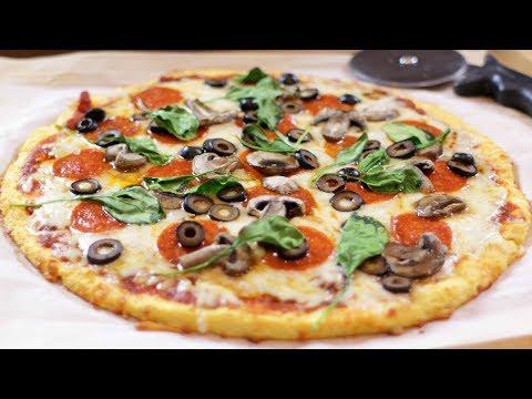 How to Make a Keto Pizza | Easy Keto Pizza Recipe (Healthy, Gluten Free)