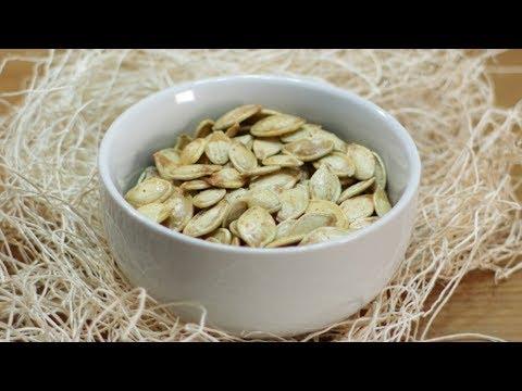 How to make Roasted Pumpkin Seeds | Easy Roasted Pumpkin Seeds recipe