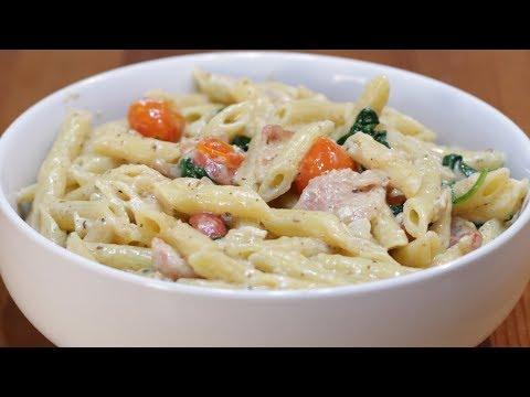 How to Make a White Pasta Sauce | Easy Homemade White Pasta Sauce Recipe