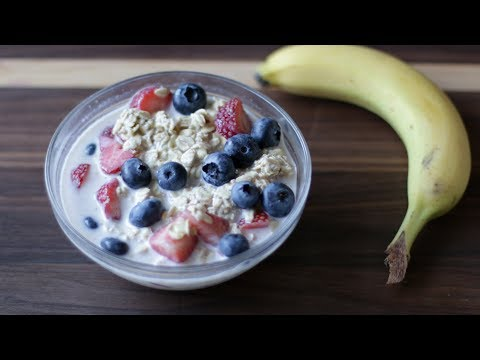 How to Make Overnight Oats | Easy Homemade Overnight Oats Recipe