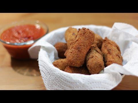 How to Make Mozzarella Sticks - Homemade Cheese Sticks Recipe