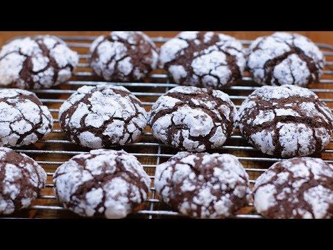 How to Make Chocolate Crinkles Cookies | Easy Crinkle Cookie Recipe