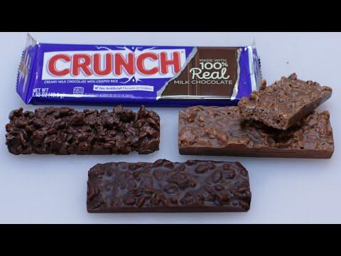 How to Make Chocolate Crunch Bars | Nestle Crunch Bar Copycat Recipe