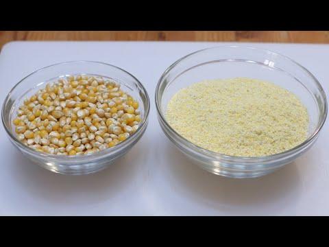 How to Make Cornmeal | Easy Homemade Cornmeal Recipe