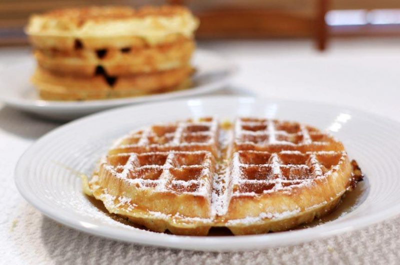 Homemade Belgian Waffles | In the