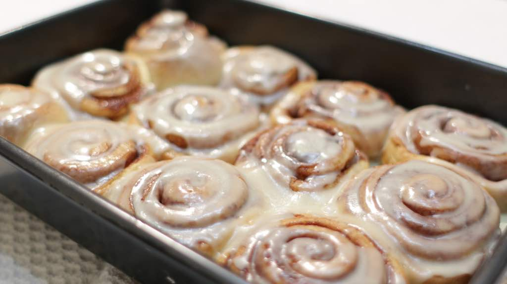 Homemade Cinnamon Rolls No Mixer Required Step By Step