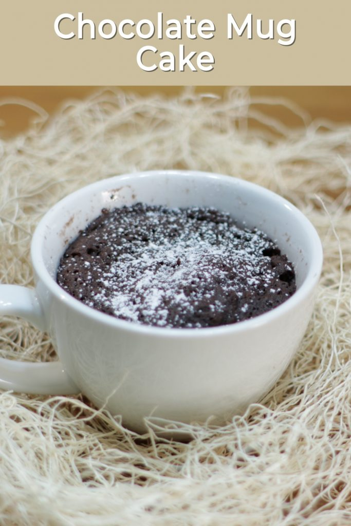 Chocolate Mug Cake Only 3 Ingredients In The Kitchen With Matt