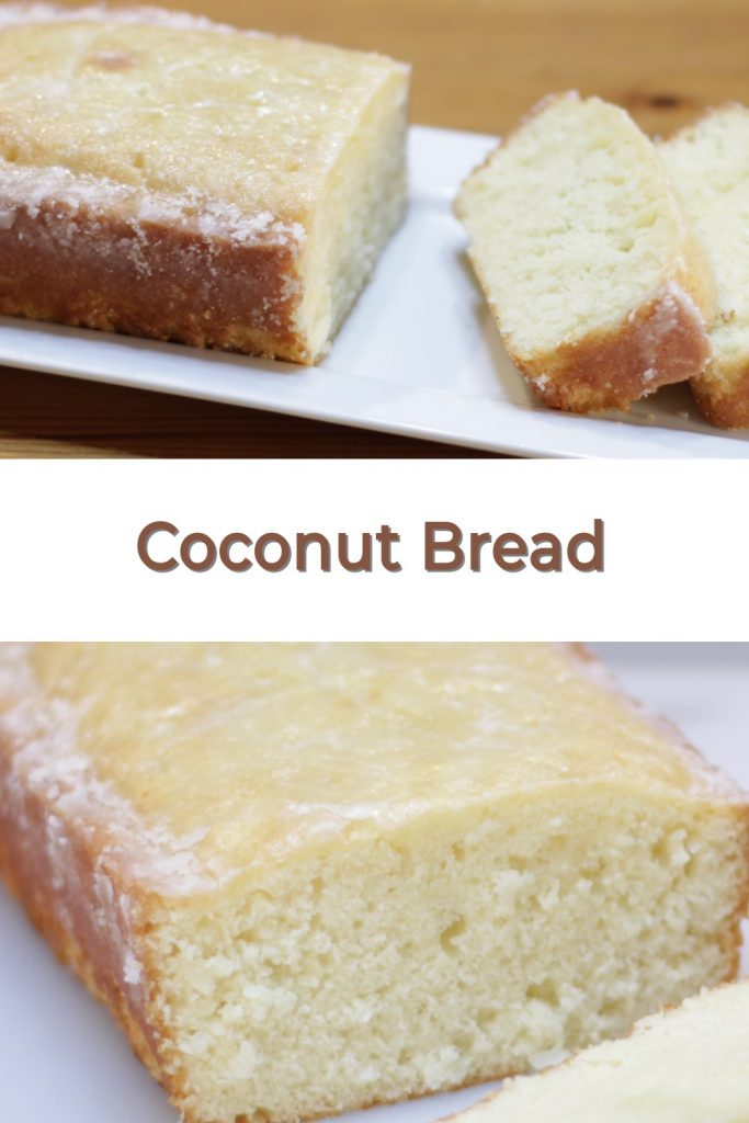 Coconut Bread Pin for Pinterest
