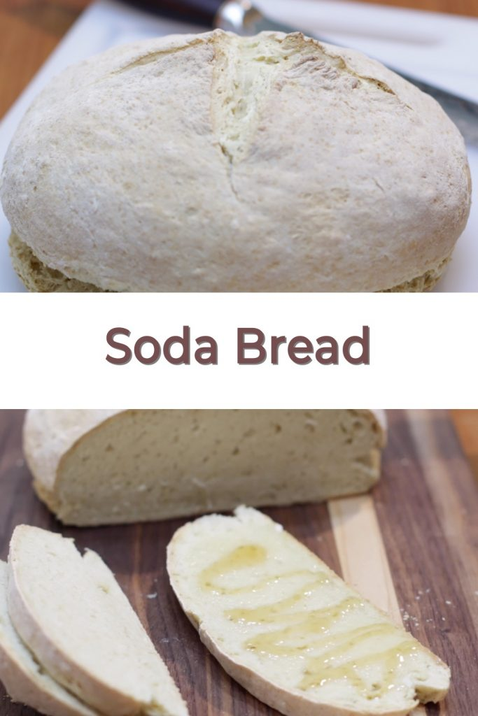 Soda bread pin for Pinterest