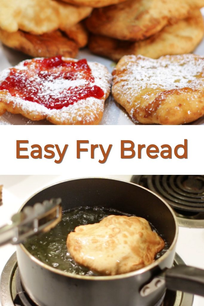 Easy fry bread pin for Pinterest