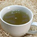 Easy Lemon Honey Tea in a white mug on a table