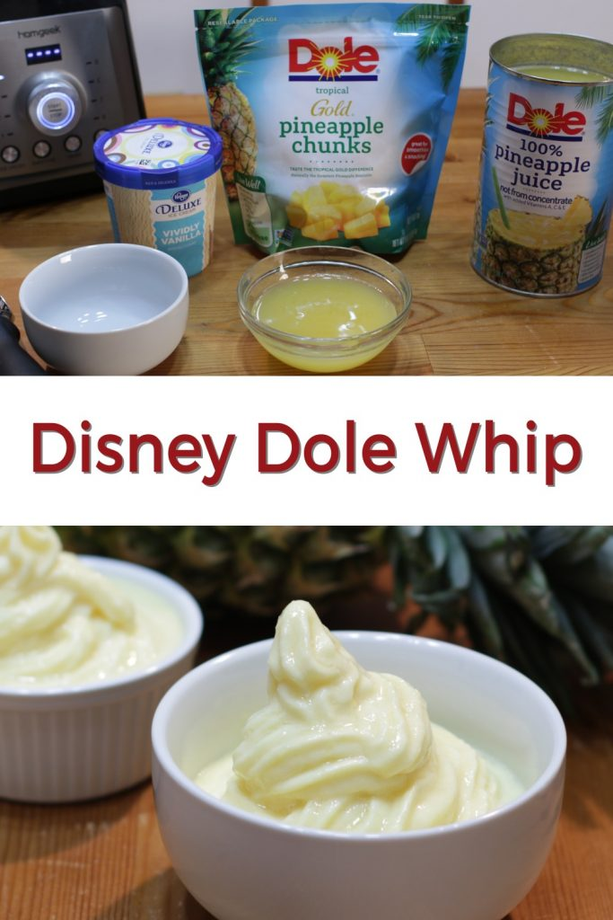 Disney Dole Whip pin for Pinterest