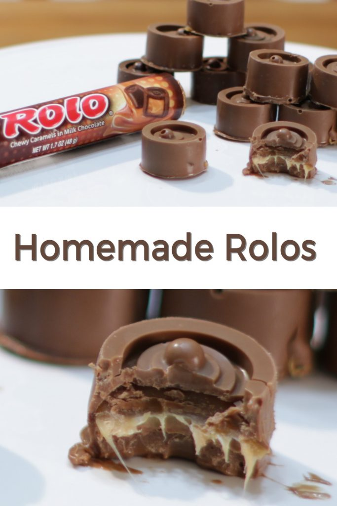 Homemade Rolos pin for Pinterest
